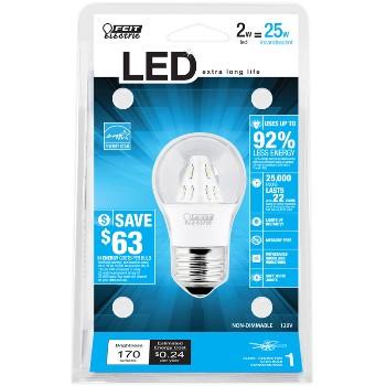 Feit Elec. BPA15/CL/LED/RP Led 120v Bulb