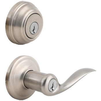 Tustin Entry Lock and Deadbolt Combo Lock ~ Satin Nickel