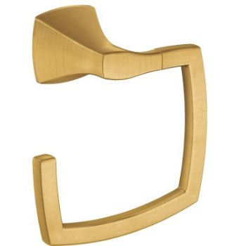 Voss Towel Ring ~ Brushed Gold