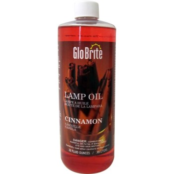 Glo-Brite Lamp Oil, Cinnamon ~ 32 oz.