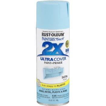 Rust-Oleum  Ultra Cover 2X Spray ~ Aqua Satin