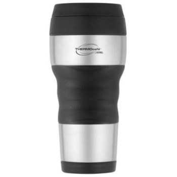 Thermos DF4020TRI6 Stainless Steel Travel Mug w/Ergonomic Grip  ~ 16 oz