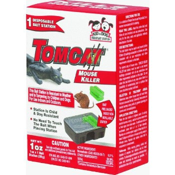 Tomcat Disposable Bait Station for Mice or Rats