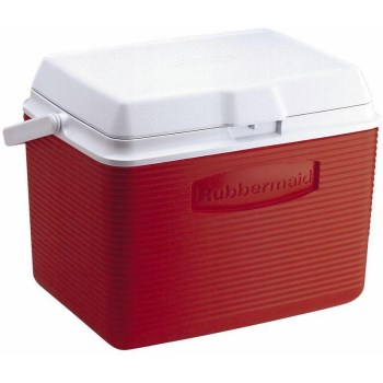 Ice Chest Cooler~ Red, 24 Quart