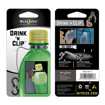 Drink 'N Clip, Stainless