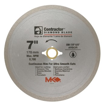 MK Diamond 167029 7in. Diamond Saw Blade