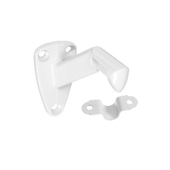 Handrail Bracket ~ White Finish