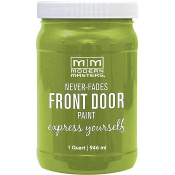 Express Yourself Front Door Satin Paint, Fortunate ~ Quart