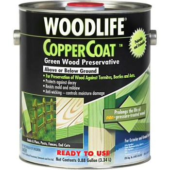Wood Preservative, CopperCoat ~ .88 Gallon