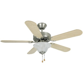 Ceiling Fan, Wyndham Style ~ Brushed Nickel  - 42""