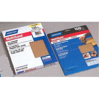 "Assorted All-Purpose Sandpaper Sheets ~ 9"" x 11"""