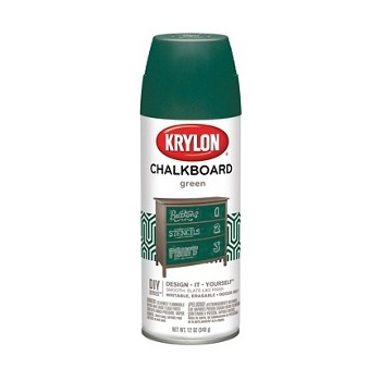 Chalkboard Paint, Green ~ 12 oz Spray