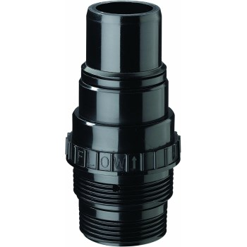 Check Valve for Sump Pump w/Flexible Pipe,  1.25""