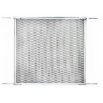 Screen & Storm Door Protective Grille,  Satin Finish Aluminum  ~  24""