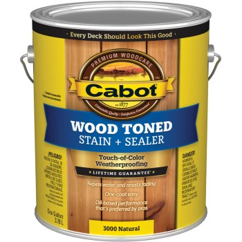 Deck & Siding Stain ~ Natural - Gallon