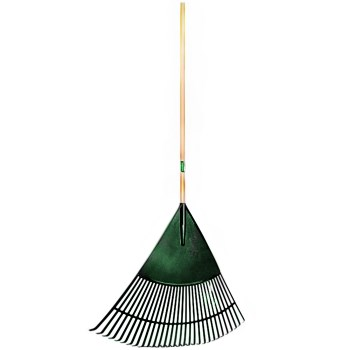 Union Brand Poly Leaf Rake  ~ 30""