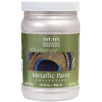 Metallic Paint, Oyster 32 Ounce