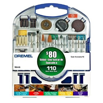 Bosch/Vermont American 709-01 Super Accessory Kit  - 110 Piece
