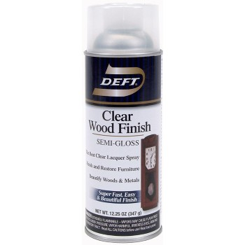 Wood Finish, Clear Semi-Gloss ~ 13 oz Spray