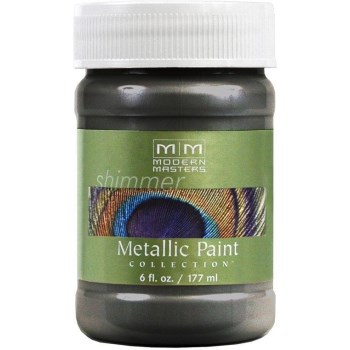 Metallic Paint, Steel Gray 6 Ounce