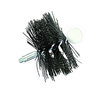 Pellet Stove Round Cleaning Brush ~ 4""