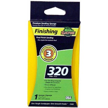 Ali Industries 7303-20 Sanding Sponge, Jumbo 320