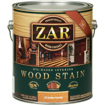 Wood Stain, Amber Varnish ~ 1 Gallon