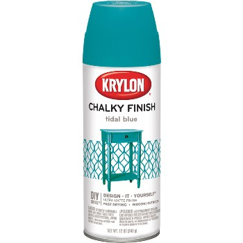 Chalky Finish Paint, Spray ~ Tidal Blue