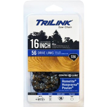 "TriLink Low Profile Semi-Chisel Chainsaw Chain - 3/8"" Pitch"
