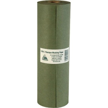 "Trimaco 12215  Masking Paper~Prem Green ~ 15"" x 180 ft."