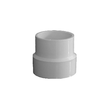 Sewer Adapter Coupling, 4 x 3 inch