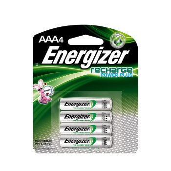 Energizer NH12BP-4 AAA  Rechargeable NiMH Batteries