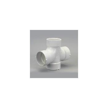 Genova Prod 73530 Double Sanitary Tee, 3 inch