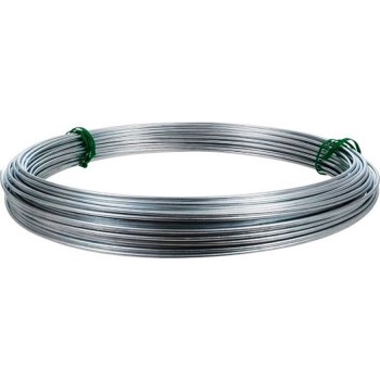 Galvanized Clothesline or Guy Wire, 9 Gauge ~ 50 feet
