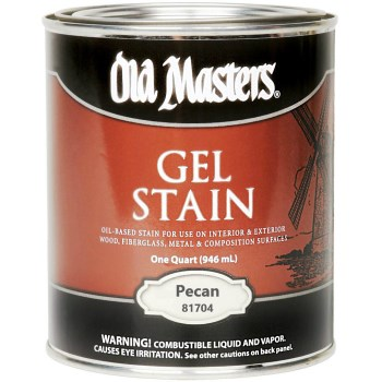 Oil-Based Gel Stain, Pecan ~ Quart