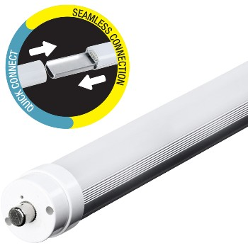 LED Fluorescent Tube, Frosted ~ 8 ft.