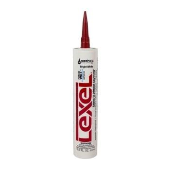 Sashco 13030 Lexel Caulk,  Bright White ~ 10.5 oz Cartridge