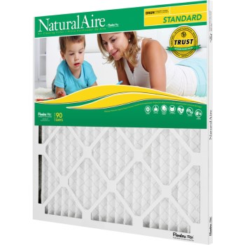 "AAF Flanders 84858.011030 Naturalaire Standard Pleated Air Filter ~   10"" x 30"" x 1"""