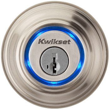 Kevo Bluetooth Electronic Lock,  Satin Nickel Finish