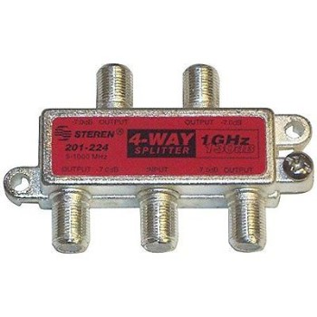 4-Way 130db Splitter
