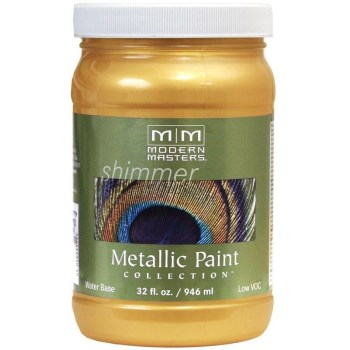 Metallic Paint, Gold Rush 32 Ounce