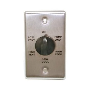 2sp Metal Wall Switch