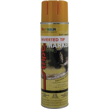 Seymour Inverted Tip Marking Paint, Hi Visibility Yellow ~ 20 oz
