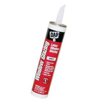 DAP 12108 White Latex Window Glazing