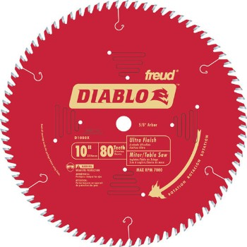 Finish Blade, 80T 10 Inch