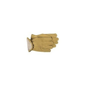 Leather Gloves - Thermal Lined - Large