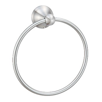 10-9727 Satin Nickel Towel Ring