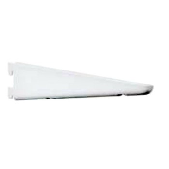 Double Track Bracket - 182 Series  ~ White, 18.5""