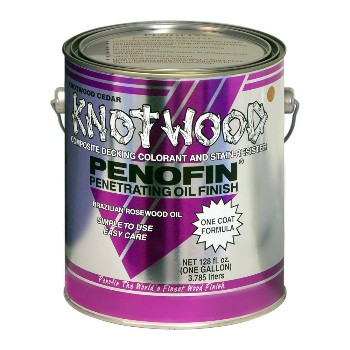 Knotwood Penetrating Oil Finish, Redwood  ~ Gallon