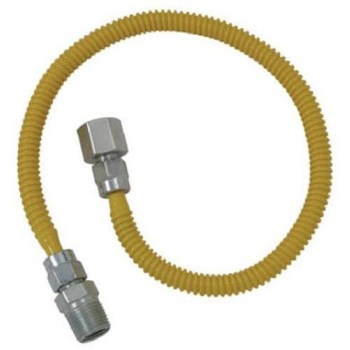 Brass Craft Manufacturing CSSL54-48P Cssl54-48 P Ctd Ss Gas Line